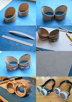 15 DIY Minion Craft - Coole Bastelideen - Projects to Try - Steam Punk Diy, Minion Costumes, Diy Costumes, Cosplay Costumes, Cosplay Tutorial, Cosplay Diy, Diy Steampunk, Steampunk Goggles, Crafts To Make