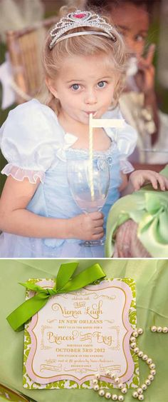 Princess and The Frog Party by Loralee Lewis