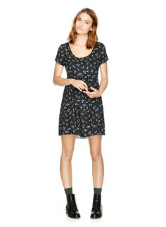 TALULA BAYBERRY DRESS - A floral dress that pairs perfectly with a little bit of attitude