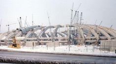 Stade Olympique Montréal construction