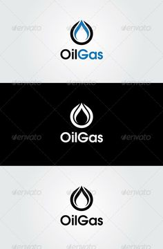 Oil Gas Logo Template