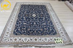 Hand knotted silk rug # Rug No.: P3163# Quality: 180L (225kpsi) # Size: 6X9ft (183X274cm) # Material: 100%Silk # wholesale Price: $1890/piece # If you have any interests, please email to sales@bosicarpets... Hand-madecarpet#orienatlrug#oldrug#Kashmirrug#Chinacarpet#Iraniancarpet#boteh#HeratiGul# Isfahan#Tabriz#Qum#Nain#Kashan#Kerman#Bijar#Sarouk#Caucasian#antiquecarpet#bosicarpet3