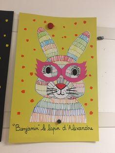 La classe de Teet et Marlou - Le blog de maîtresses passionnées Bon Courage, Blog, Bunny, Farm Animals, Bricolage, Blogging