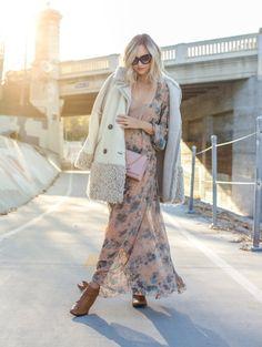 Rock a bodysuit under your sheer chiffon dress as an undergarment.
