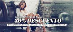 Jueves y viernes, 14 y 15 de junio, ¡30% de dto. en marcas seleccionadas para chica!