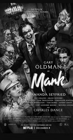 Mank (2020) Sam Troughton, Tom Pelphrey, Atticus Ross, Michael Hayes, Jennifer Carpenter, Charles Dance, Imdb Tv, In Theaters Now, Everything