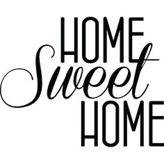 Stickers muraux citations - Sticker Home sweet Home | Ambiance-sticker.com