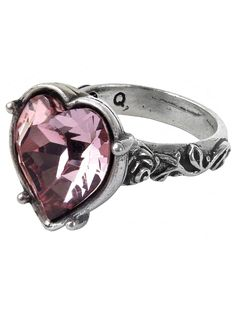 """Bower Troth"" Ring by Alchemy of England #InkedShop #ring #heart #jewelry #style"