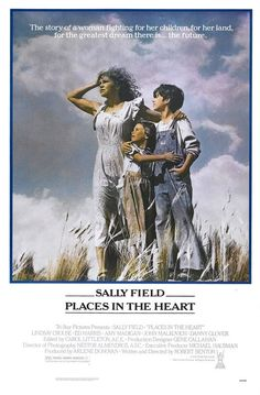 Places in the Heart (1984), directed by Robert Benton, starring Sally Field, John Malkovich, Ed Harris, Amy Madigan, Danny Glover, Lindsay Crouse