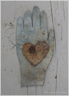 My Hearts Song: Galvanized --Hands to work and hearts to God.
