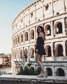 """Another favorite moment was our trip to Rome during the summer, touring the Colosseum gave me chillllls. Seeing it in person- unreal. Our tour guide had a master's degree in medieval history and was sharing all these amazing insights, kinda wanted to be best friends with him by the end. After I went back to the hotel and watched Gladiator and felt like """"I could relate"""" (but no not really) such an incredible experience #bye2017"""