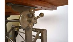 Vintage Drafting Table Designs: A Company Working Out the Details - Sewing Craft Table, Vintage Drafting Table, Drinks Tray, Lunch Table, Art Stand, Adjustable Desk, Table Designs, Farms Living, Industrial Revolution