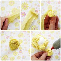 My Little Party Blog. DIY: Flores de Papel