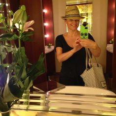 Anya Hindmarch Canvas Bag by Linda Personal Taste, Anya Hindmarch, Panama Hat, October, Canvas, Bags, Style, Tela, Handbags