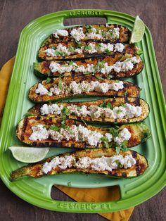 Grilled Mexican Zucchini Boats - Avocado a Day