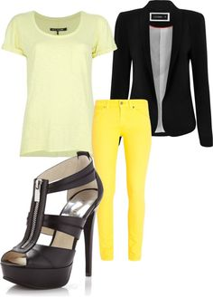"""""""Untitled #36"""" by bebesdreamcloset on Polyvore. Spring! Minus these shoes for me!"""