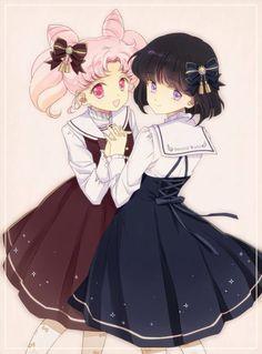 Chibi usa and Hotaru Lolita's :D