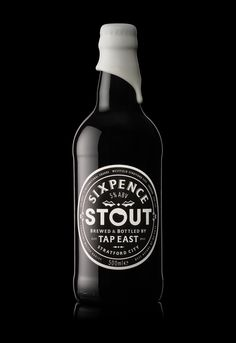 Tap East - Craft Beer / Branding / Packaging / Drinks / Design / Alcohol / Christmas / Stout / Limited Edition / Wax