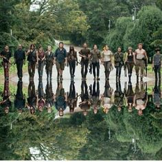 TWD wow ... seacon 1 of twd survivers were soo small amount of ppl