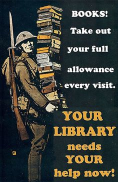 What would the Save Our Libraries campaign look like through the lens of wartime propaganda? Phil Bradley found messages of individual responsibility and collective endeavour in posters from the first and second world wars.