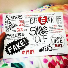Shake It Off by Taylor Swift lyrics, hand drawn by http://allaroundtaylor.tumblr.com/. Taylor Swift Drawing, Taylor Swift Fan, Taylor Swift Quotes, Live Taylor, Swift 3, Taylor Alison Swift, Lyric Drawings, Lyric Art, Song Lyrics