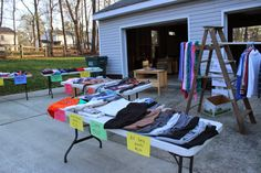 garage sale 15 Genius Garage Sale Tips and Tricks to Make More Money - Having a successful garage sale takes some work, but with these tips, you can draw the crowds, make some money and keep your sanity.