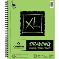30 Sheets Canson XL Heavy Weight Watercolor Pad 18 x 24 Inches 140 lb
