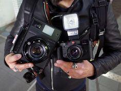 tokyo camera style - Shimokitazawa Mamiya Universal Press Leica M6...