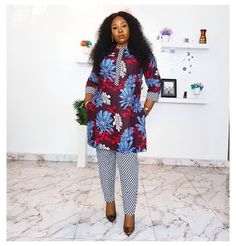 African Bridal Dress, Short African Dresses, African Fashion Skirts, African Print Fashion, Ankara Styles For Women, African Design, Pattern Fashion, Trousers, Beautiful Morning