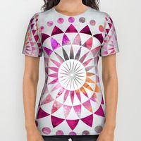 All Over Print Shirt featuring Mandala Pattern by LebensART