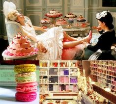 Couture Millinery Atelier.: Inspiration In Guilty Pleasures: Laduree. Fabulous Life In Hats.