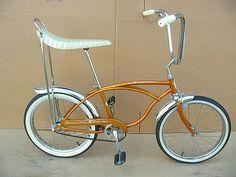 1960s bicycles | Schwinn Stingray Bike. Every Boy wanted a bike like this.