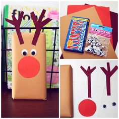 All Details You Need to Know About Home Decoration - Modern Christmas Gifts For Coworkers, Christmas Crafts For Kids To Make, Christmas Gift Wrapping, Christmas Art, Christmas Decorations, Jolly Holiday, Holiday Fun, Holiday Crafts, Diy Presents