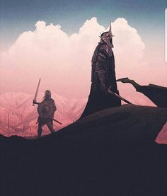 Witch King on his last battle..