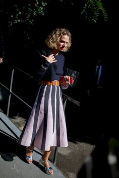 The best of street style during Milan Fashion Week 2016. #style fashion streetstyle fashion week