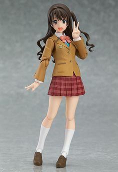 The Idolmaster Cinderella Girls figurine Figma Uzuki Shimamura Cinderella Project Ver. Max Factory