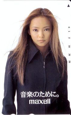 Commercials / Maxell / 1996-1997 | Namie Amuro Gallery - Toi et Moi V4