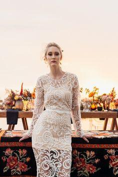 Lace Wedding, Wedding Dresses, Bridal Shoot, Solomon, Bohemian, Dresses With Sleeves, Makeup, Long Sleeve, Fashion