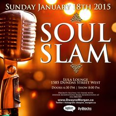 Soul Slam by @dwayne_morgan | Jan 18 Lula Lounge, get info here http://byblacks.com/events/event/1376-soul-slam