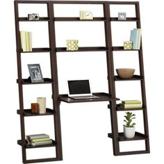 Homelegance Factory Wood And Metal Bookcase In Rustic