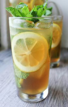 Lemon Mint Iced Tea and other fabulous recipes for the Fourth of July!