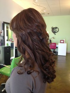 Color and extensions by Dava at The Chameleon Salon in Clarksville, TN.