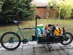 Cargo Bike, Inventions, Baby Strollers, Diy, Pictures, Trailers, Culture, Style, Recycling