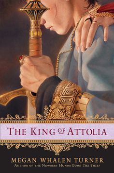 "The third of the ""Attolia"" series by Megan Whelan Turner - a brilliant fantasy series with an unforgettable hero, set in an ancient Greek world that never was."