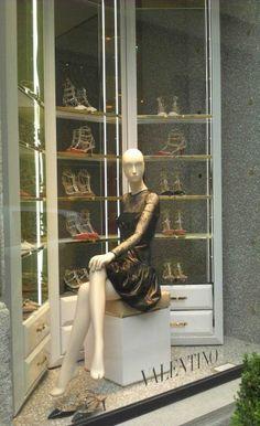 "VALENTINO,Milan, Italy,""Walk in Wardrobe"", pinned by Ton van der Veer"
