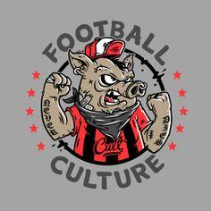 Football Culture by HeyTreka , via Behance