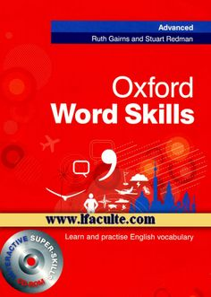 Do you search for Oxford Word Skills Advanced Students Pack Book and CDROM,Oxford Word Skills Advanced Students Pack Book and CDROM is one of best Books for now,Get This Book now.Just Click it ! English Grammar Book Pdf, Learn English Words, English Book, English Vocabulary, Teaching English, English Language, Cae Cambridge, Cambridge Ielts, English Primary School