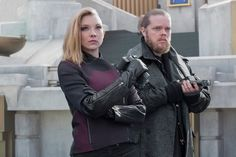 New Mockingjay Part 2 Stills! Natalie Dormer as Cressida and Elden Henson as Pollux
