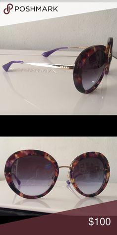 e57c9ba21c Prada sunglasses Purple tortoise with purple gradient lenses Slightly worn