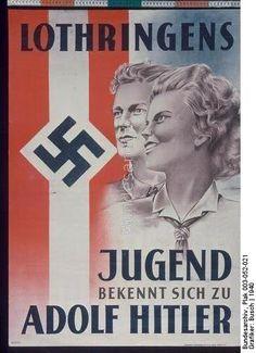 Frankreich, Lothringen, Werbung HJ (1940)